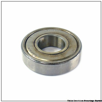 TIMKEN 315KS A1596  Single Row Ball Bearings