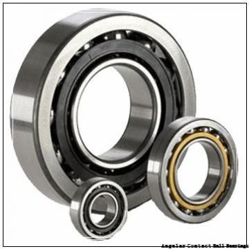 2.165 Inch | 55 Millimeter x 5.512 Inch | 140 Millimeter x 2.5 Inch | 63.5 Millimeter  CONSOLIDATED BEARING 5411  Angular Contact Ball Bearings