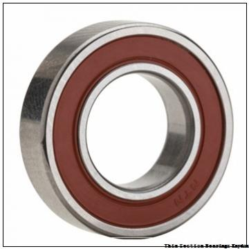 TIMKEN 61810-2RS  Single Row Ball Bearings