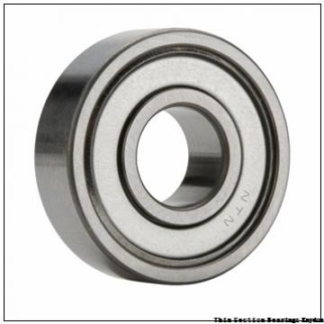 TIMKEN 61908-2RS  Single Row Ball Bearings