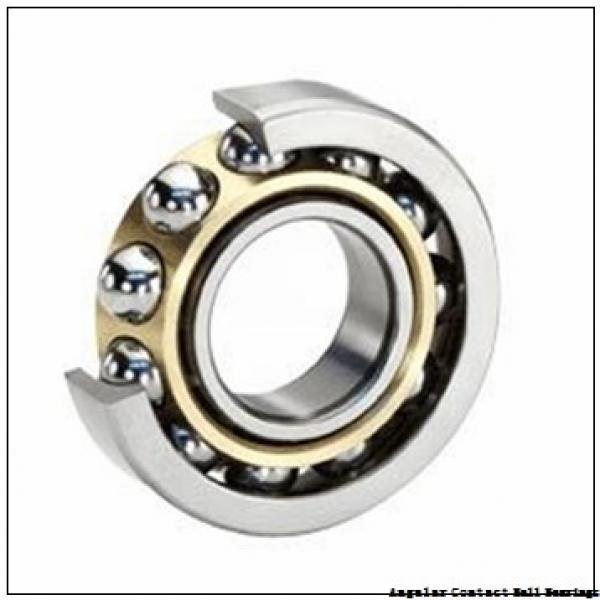 0.75 Inch | 19.05 Millimeter x 2 Inch | 50.8 Millimeter x 0.688 Inch | 17.475 Millimeter  CONSOLIDATED BEARING MS-8-AC  Angular Contact Ball Bearings #2 image