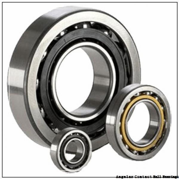 0.75 Inch | 19.05 Millimeter x 2 Inch | 50.8 Millimeter x 0.688 Inch | 17.475 Millimeter  CONSOLIDATED BEARING MS-8-AC  Angular Contact Ball Bearings #3 image