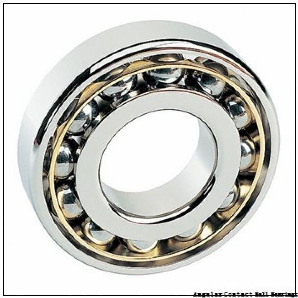 0.75 Inch | 19.05 Millimeter x 2 Inch | 50.8 Millimeter x 0.688 Inch | 17.475 Millimeter  CONSOLIDATED BEARING MS-8-AC  Angular Contact Ball Bearings #1 image